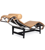LC4 Chaise Longue Corbusier style in full leather - Onske