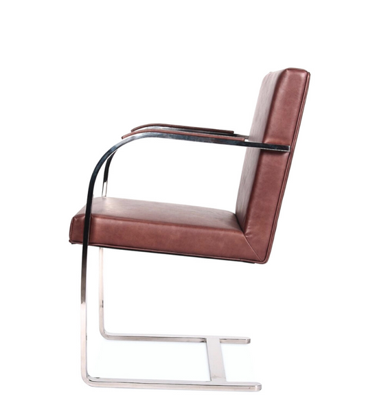 BRNO Style Chair in full leather