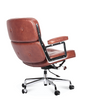 ES 104 Style Lobby Chair Full Leather Premium Range - Onske