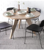 Jean Prouve Style Gueridon Wooden Dining Table 120cm - Onske