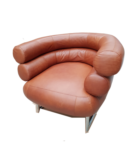 Premium Leather Bibendum style chair - Onske