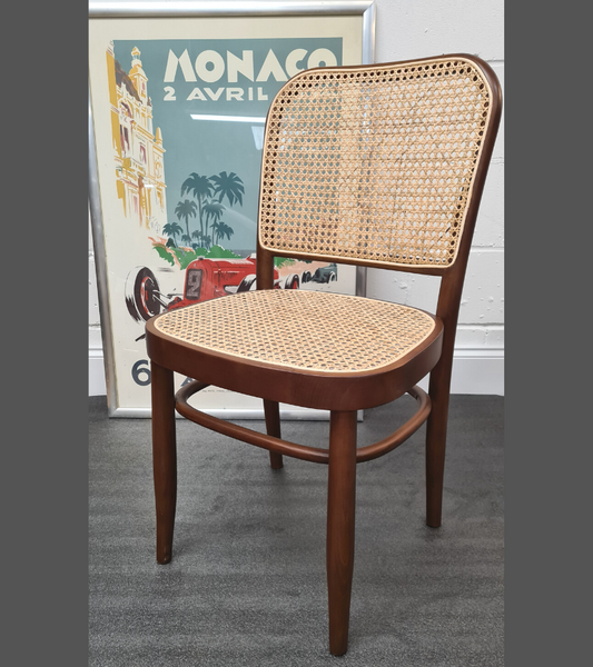 Bistro Style Rattan Dining Chairs Set of Two - Onske