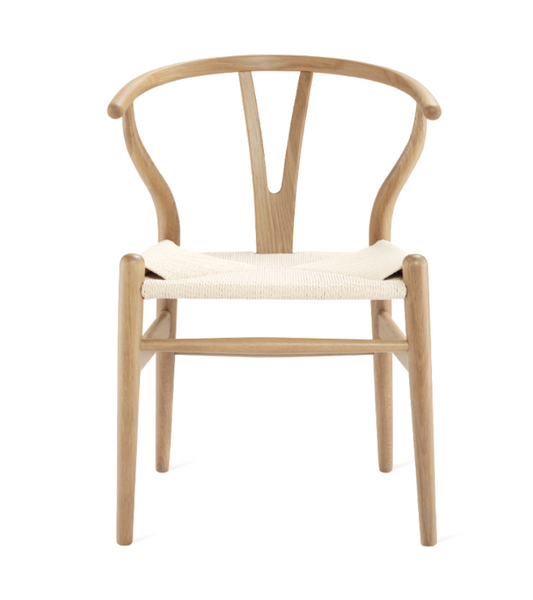 Wishbone CH24 Wegner Style Chair in American Oak - Onske