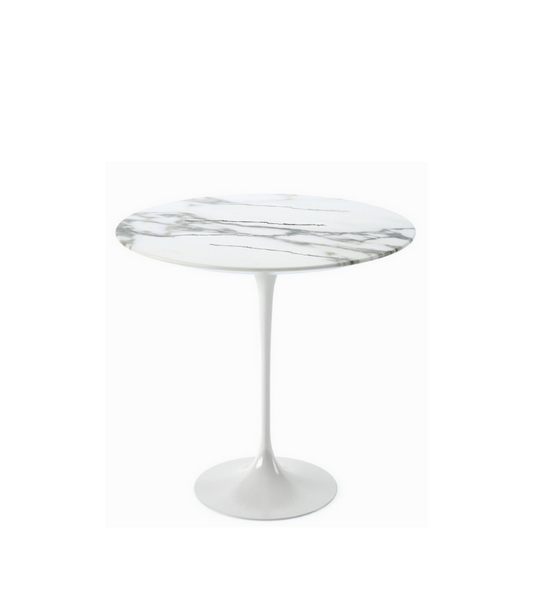 Arabescato Marble Side Table - Onske
