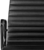 Black Frame Ribbed High Back EA 119 Style Office Chair - Onske