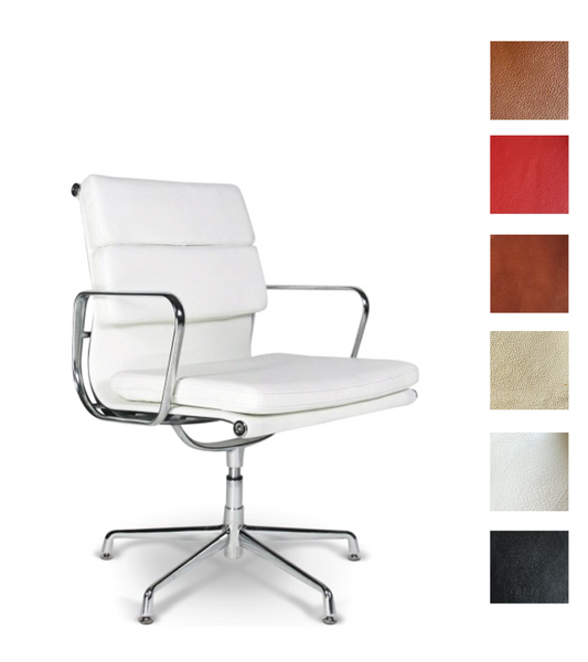 EA 208 Style Office Chair Full Leather - Onske