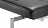 Aniline Black Leather PK80 Day Bed Kjaerholm Style - onske-2