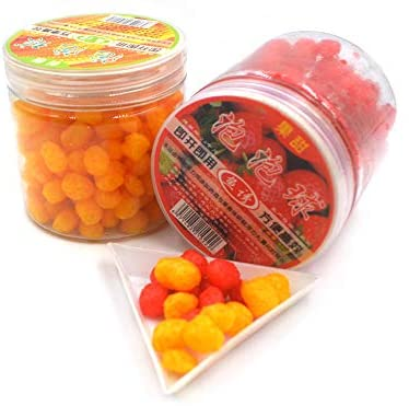 Bottle 60g 230pcs Carp Fishing Cereal Fruit Flavor Bait Balls Pop Floating Fishing Bait Boilies Freshwater Saltwater Fishing Boilies Baits (Mixed Colors) : Sports & Outdoors