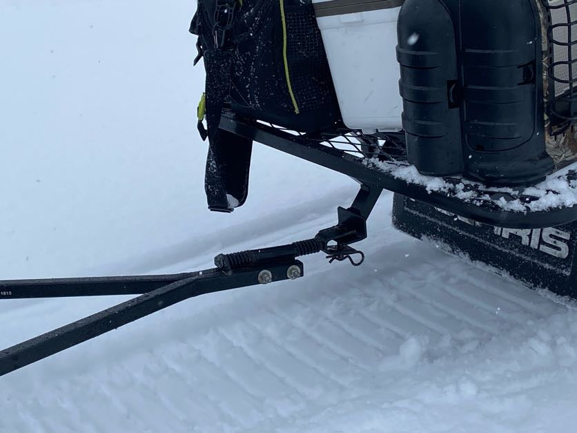 Snowmobile Outdoor Cargo System