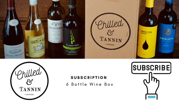 6 Bottle Subscription - Chilled & Tannin