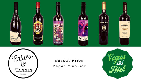 Subscription Vegan Vino Box - Chilled & Tannin