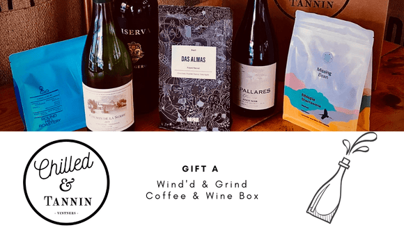 WINE'D & GRIND - Coffee and Wine Box - Chilled & Tannin