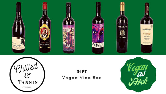 The Vegan Vino Box - Chilled & Tannin