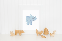Load image into Gallery viewer, Baby Elephant Print