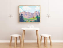 Load image into Gallery viewer, mount rushmore mt bunch,ore unframed fine art print vacation south dakota decor explore