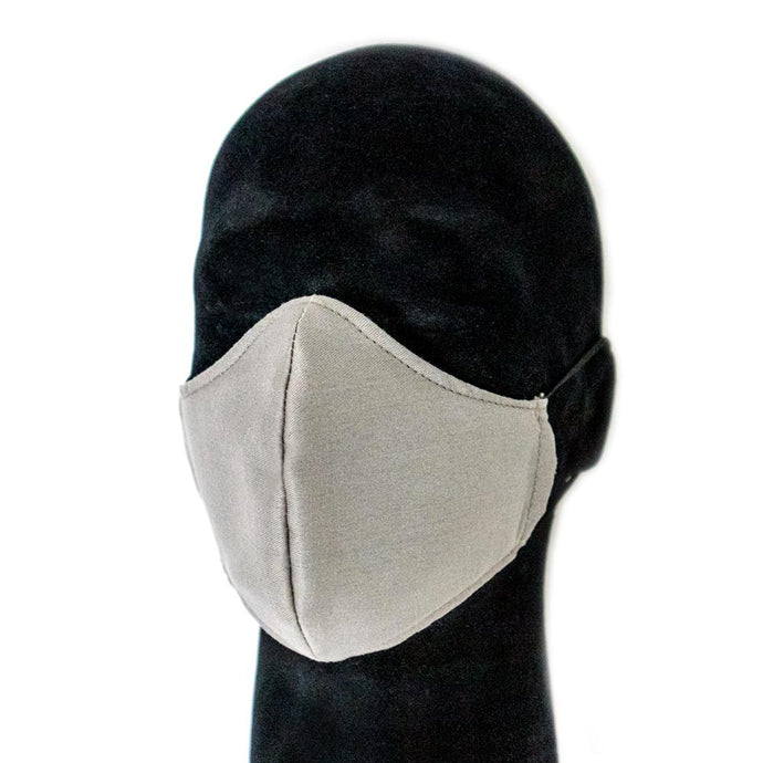 Gray Reusable Face Mask