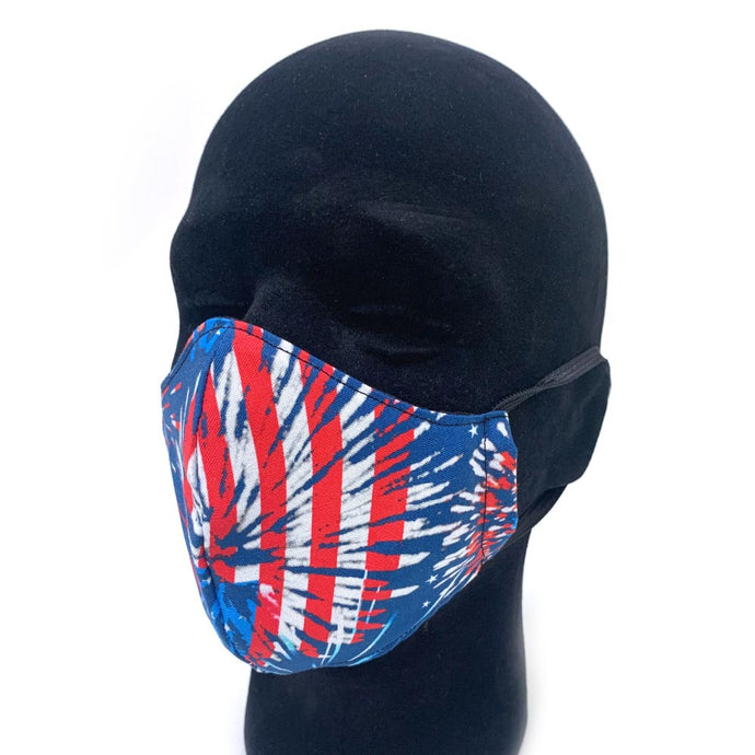 Patriot Explosion Reusable Face Mask