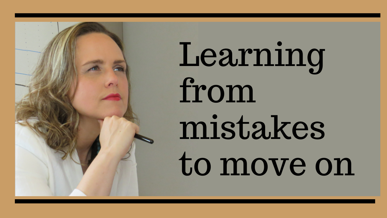 Learning from Mistakes to Move On
