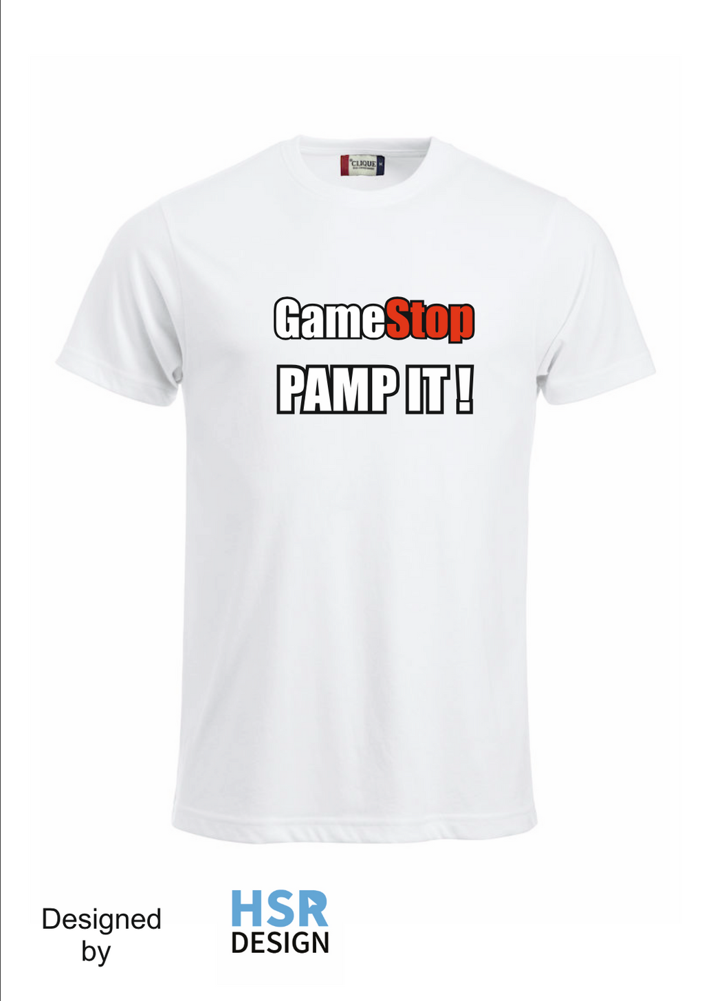 T-Shirt || Game Stop Pamp it!