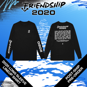 2020 LONG SLEEVE LINEUP SHIRT