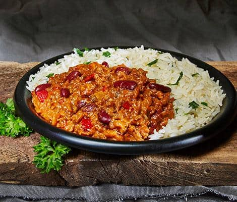 Royal Chilli Con Carne & Rice 400g