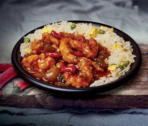 Royal Chilli Chicken with Egg Fried Rice 400g
