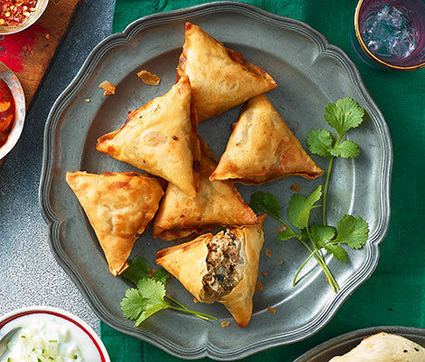Lamb Samosa 6 pieces
