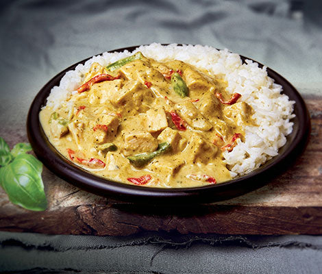 Royal Thai Green Chicken Curry with Jasmine Rice 400g - Royal Simply the Best  Southall, London