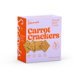 Chipotle Ranch Carrot Crackers (2 Pack)