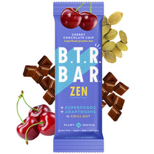 Load image into Gallery viewer, Cherry Chocolate Chip ZEN Bar (4 Pack)