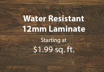 Water Resistant 12mm Laminate