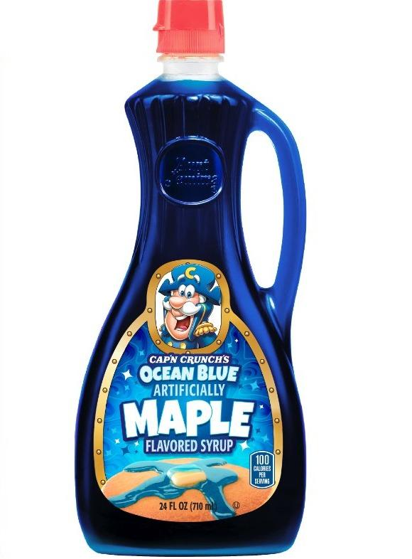 Cap'n Crunch Ocean Blue Maple Syrup