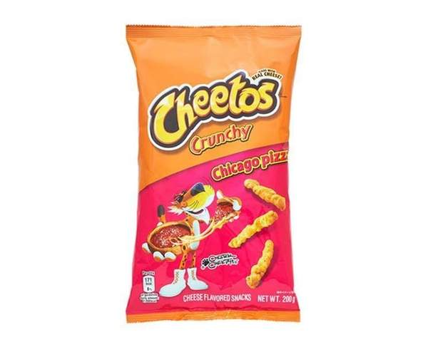 Cheetos Chicago Pizza