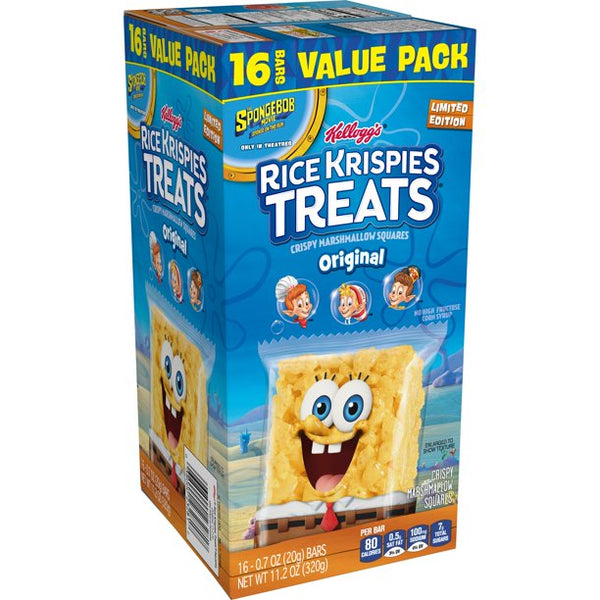 Spongebob Squarepants Rice Krispy Treat