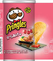 Pringles Japanese Fried Chicken