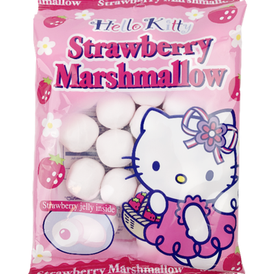 Hello Kitty Marshmallow Strawberry (Japan)