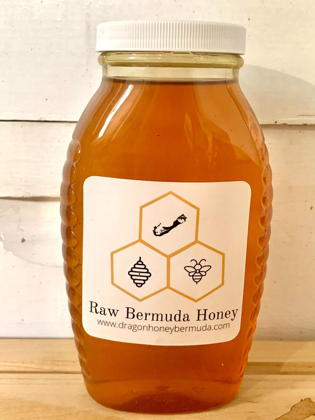 2 lb Raw Bermuda Honey