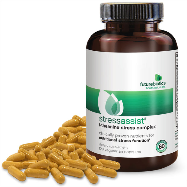 Futurebiotics StressAssist L-Theanine Stress Complex, 120 Capsules