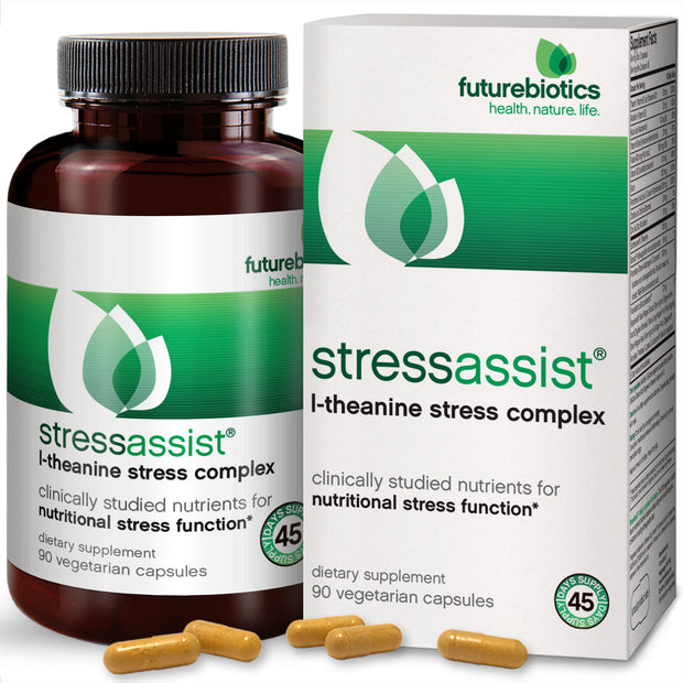 Futurebiotics StressAssist L-Theanine Stress Complex, 90 Capsules