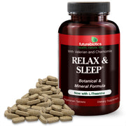 Futurebiotics Relax & Sleep Support Supplement, 120 Vegetarian Tablets