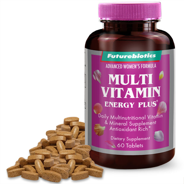 Futurebiotics Multivitamin Energy Plus for Women, 60 Tablets