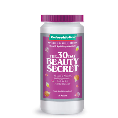 Front view of the Futurebiotics Anti-Aging Supplements Bottle