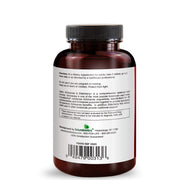 Back View of Futurebiotics Garlic Echinacea Elderberry Immune Support Bottle