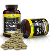 Futurebiotics Hair, Skin, & Nails Nutrition for Men Bottles and Supplements