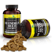 Futurebiotics Hi Energy Multi For Men Bottle and Supplements