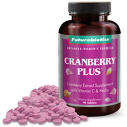 Futurebiotics Cranberry Plus with Vitamin C & Herbs, 90 Tablets