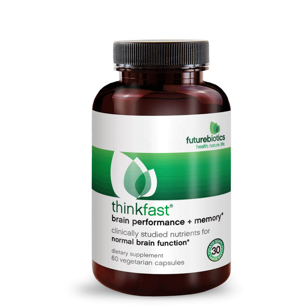 Futurebiotics ThinkFast Brain Performance + Memory, 60 Capsules