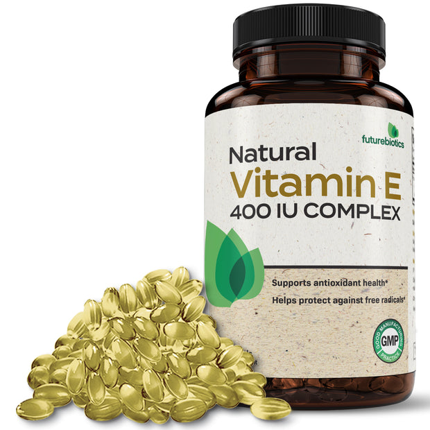Futurebiotics Natural Vitamin E 400 IU Complex, 250 Softgels