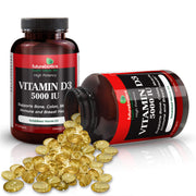 Futurebiotics Vitamin D3 Bottles and Supplements