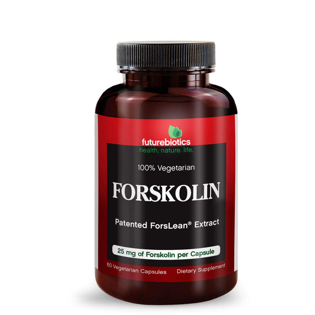 Front View of Futurebiotics Forskolin Bottle